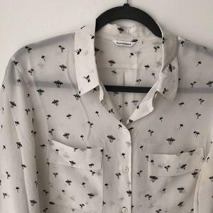 Club Monaco silk blouse